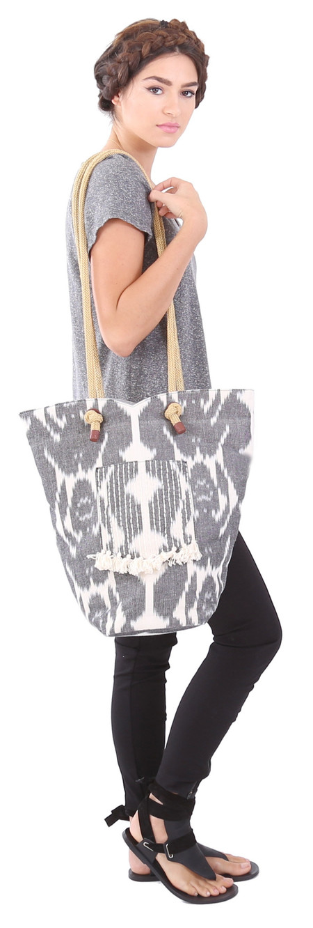 Hoss Intropia Ikat Bag