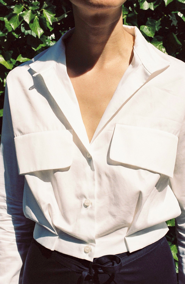 Markoo The Cropped Blouse - white