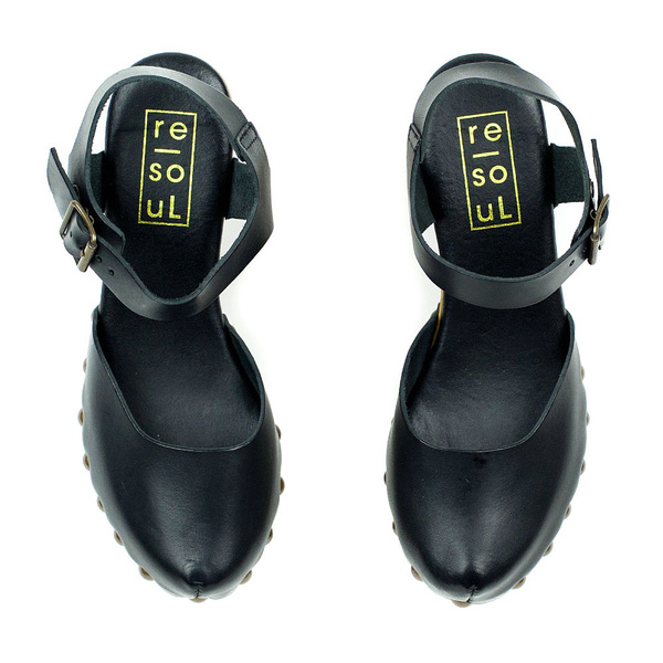 re-souL Tilda - Black Clog