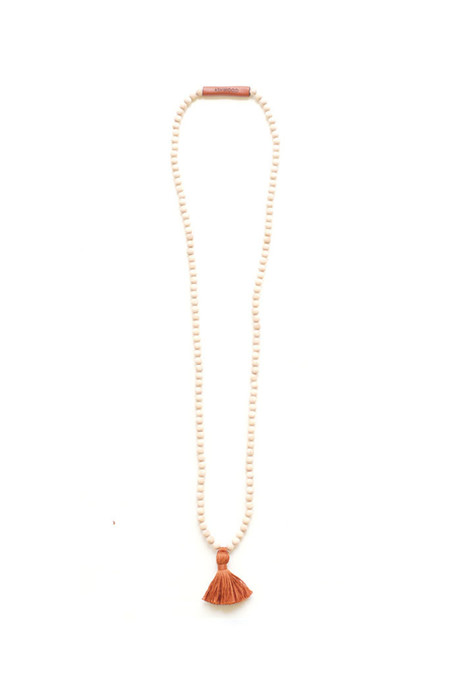 Ashwood Avenue Santo Necklace Rust