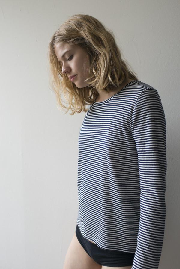 Calder Blake Miro Tee in Picasso Stripe