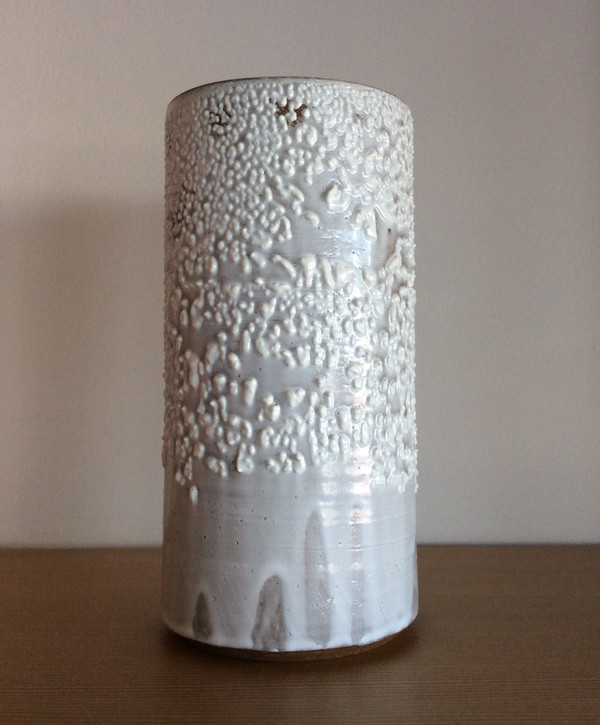 Victoria Morris White Textured Vase