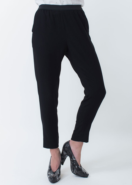 Whyred Blue Elastic Pant