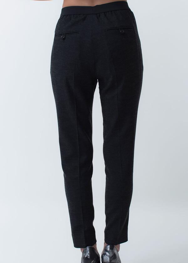 Whyred Blue Elastic Pant