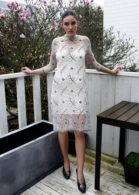 Ganni California Lace Dress