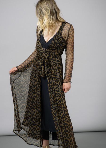 Ganni Lewis Chiffon Printed Dress