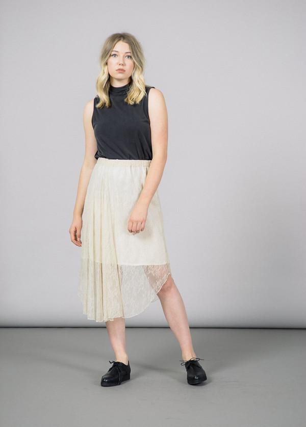 Baum und Pferdgarten Selma Lace Front Slit Skirt