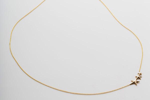 Gabriela Artigas Triple Shooting Star Necklace