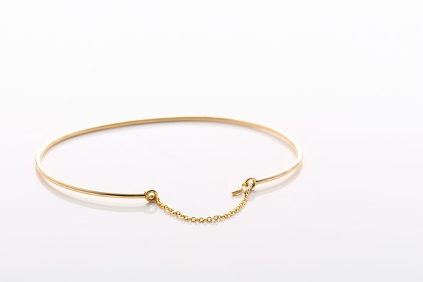 Jennie Kwon Designs Waif Chain Cuff