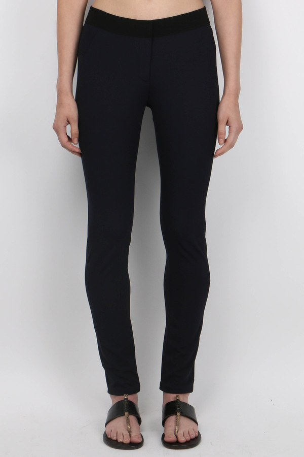 Veronica Beard Scuba Legging - Navy