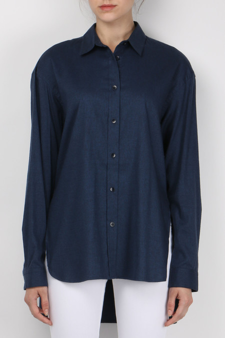 Tibi Denim Essential Shirt