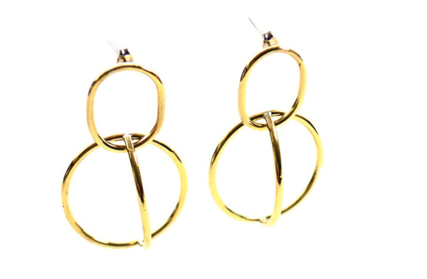 Bloomin' Brilliant Orbit Earrings