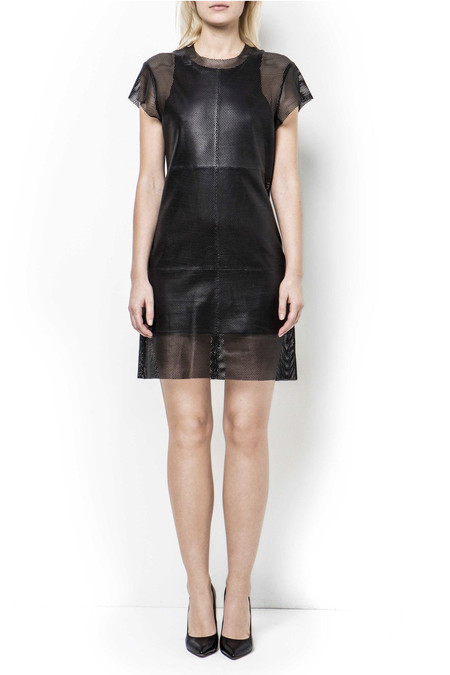 Tiger of Sweden Rush Leather Dress | Black