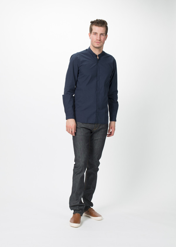 Homecore Kader Poplin Button Up Shirt