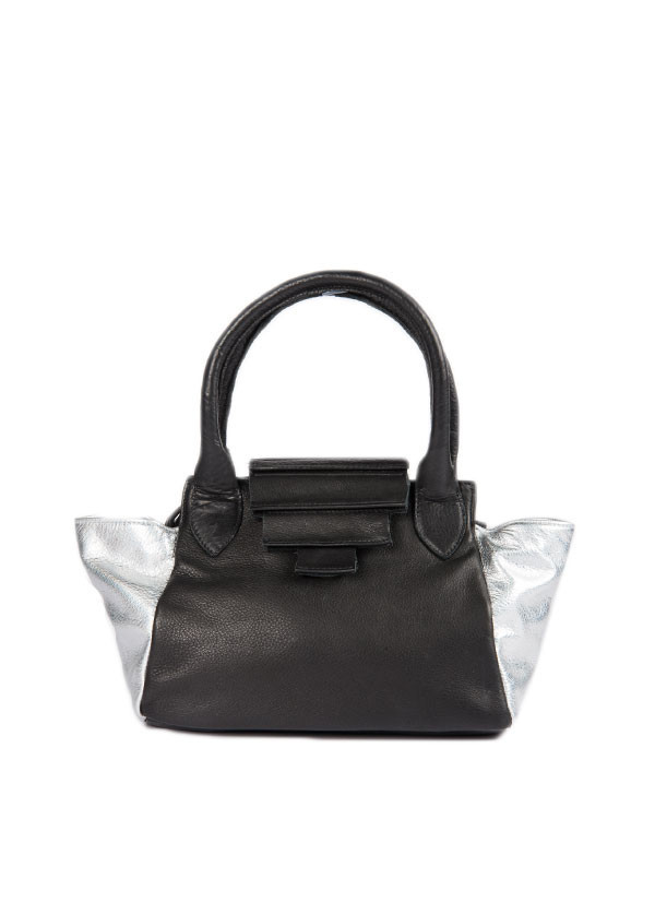 Collina Strada - Sarto Duo Bag in Black and Silver