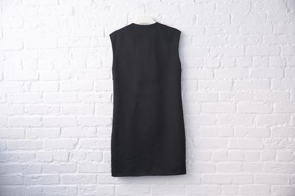 acne studios core v-neck dress
