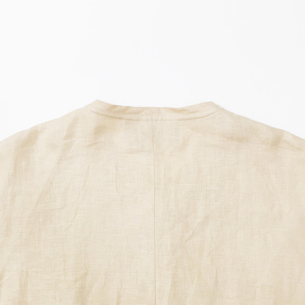 Johan Vintage Light Peach Linen Jacket