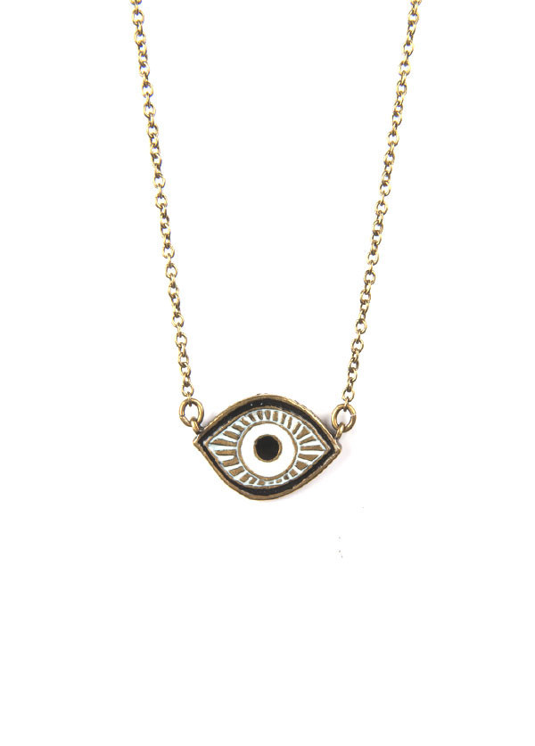 Dream Collective - Evil Eye Necklace in Turquoise or Black