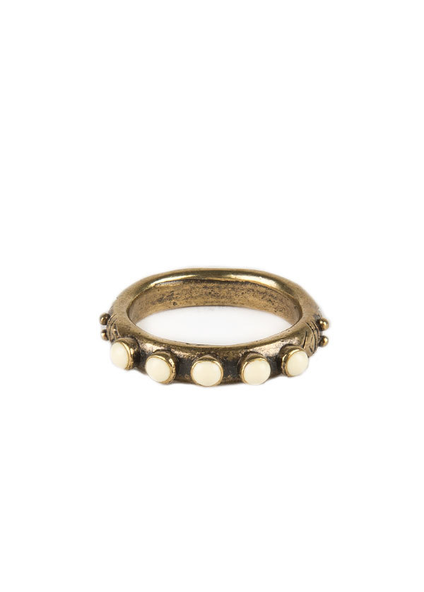 Dream Collective - Snake Eyes Ring in White