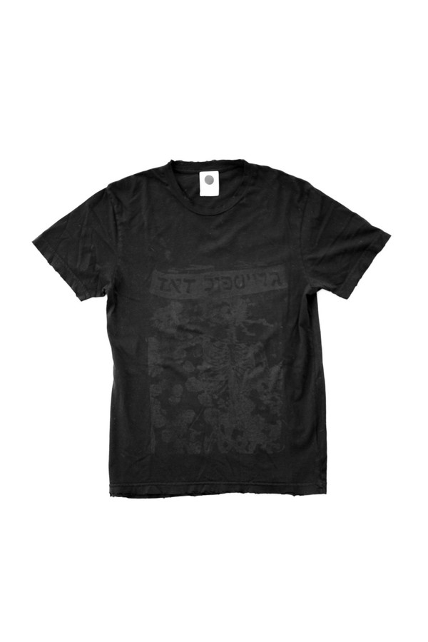 Men's Assembly New York Black Dead T-Shirt