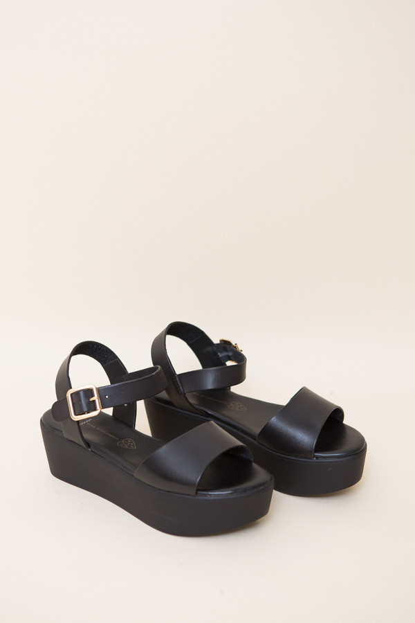 BC Shoes Feline Platform Sandals