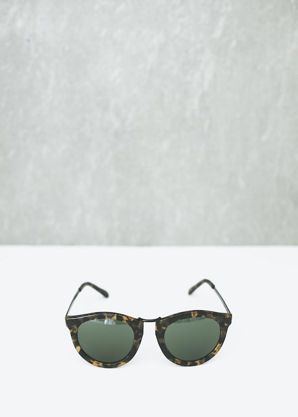 Karen Walker Eyewear - Harvest in Crazy Tortoise