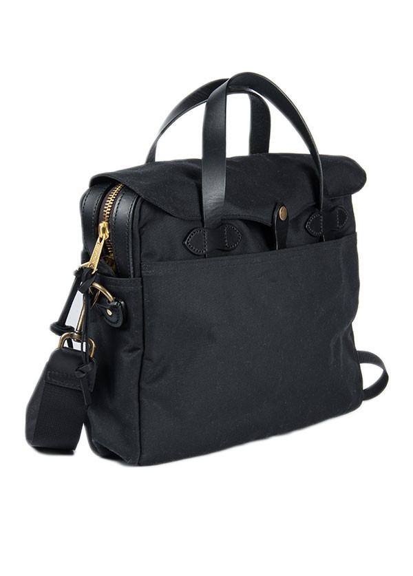 Filson - Tin Cloth Original Briefcase in Black