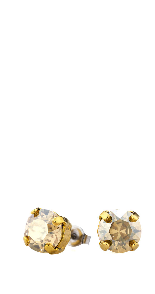 Swarovski .38 Studs in Gold