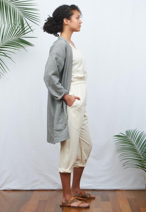 New Market Goods Houndstooth Hanten Jacket