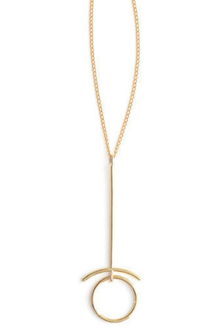 Seaworthy Retrograde Necklace