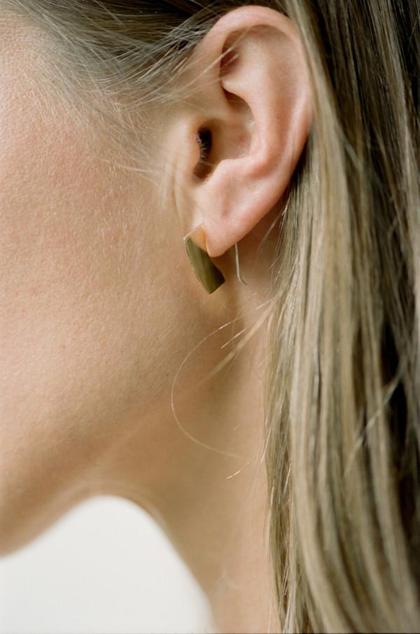 Erin Considine Blade Mini Hoop Earrings