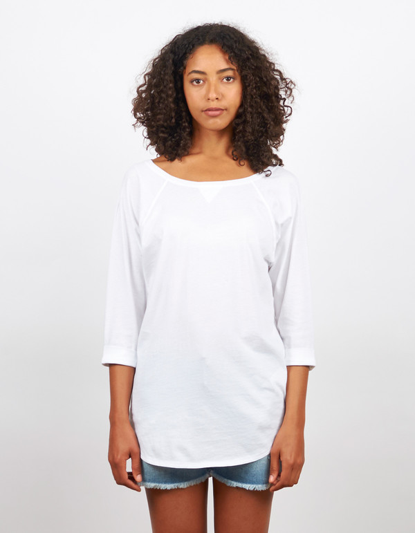 Filippa K Raglan Top White