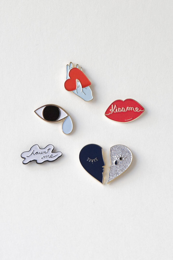 Hannah Kristina Metz Wuthering Heights Pin Collection