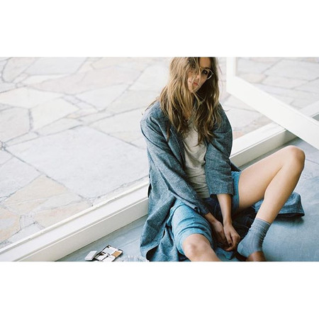 GOOD STUDIOS HEMP CHAMBRAY DUSTER
