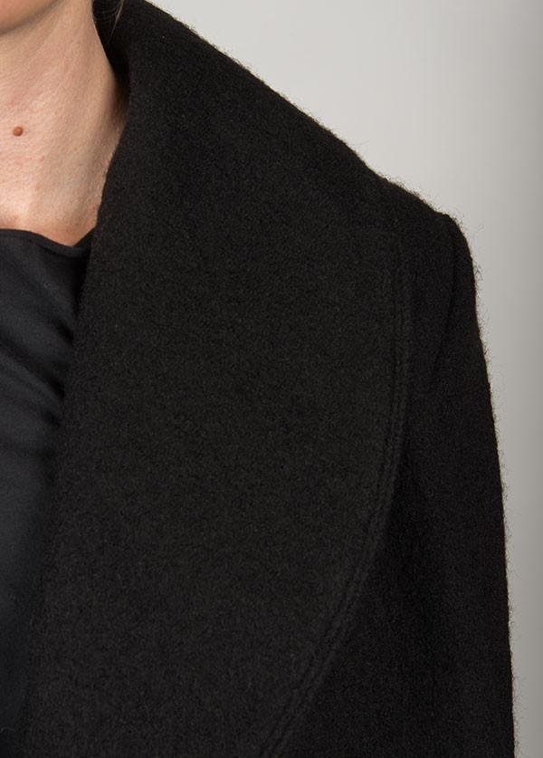 Line Knitwear - The Spencer in Caviar