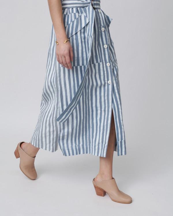 Luisa et la luna Aura Dress in Stripe