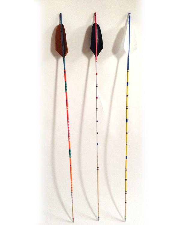 Fredericks & Mae Black feather Arrow
