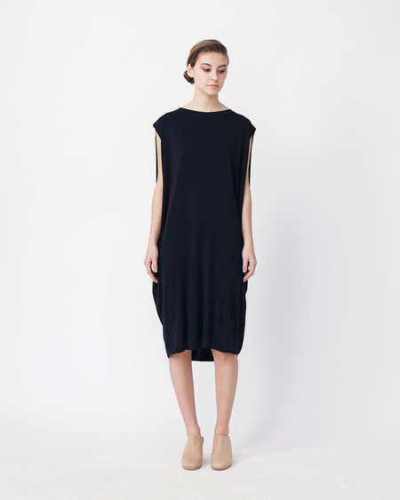 Achro Cocoon Linen Sweater Dress