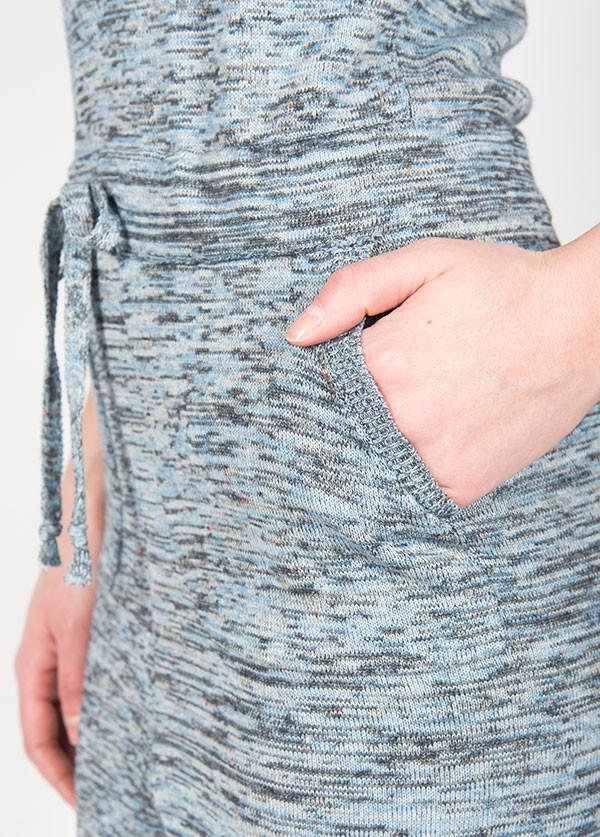 Micaela Greg Knit Jumpsuit - Jean