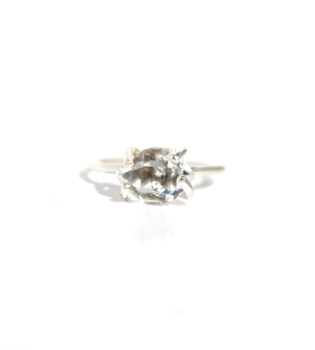 Lumo Herkimer Diamond Ring