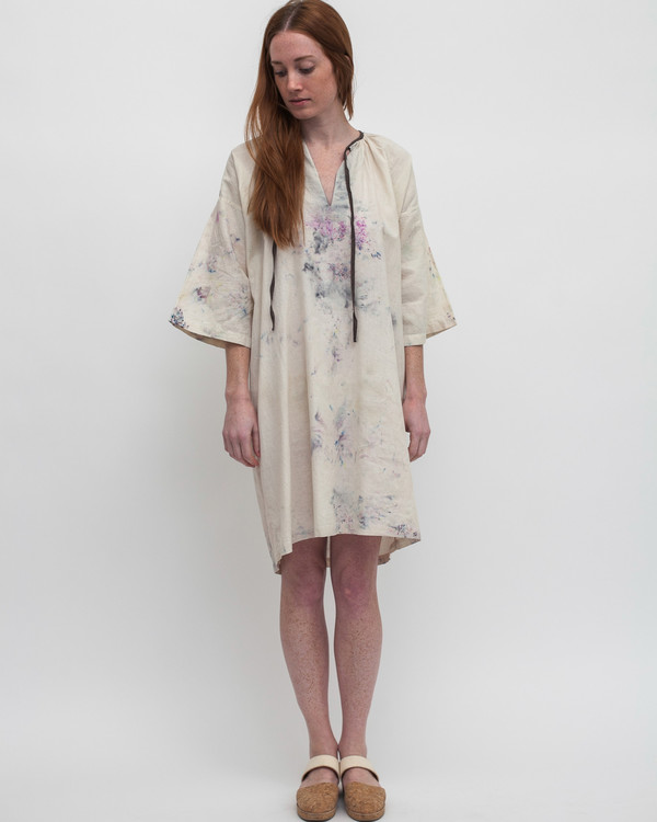 Milena Silvano Johanna Dress in Ice Dye