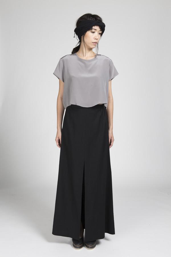 Ali Golden Maxi Skirt