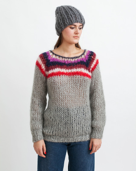 Maiami Mohair Campus Sweater