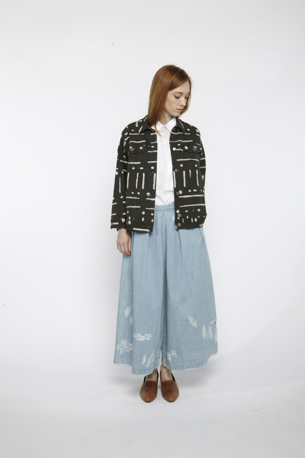 Rachel Comey Printed Brisk Jacket