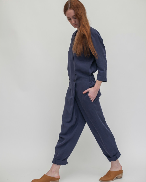 Reality Studio Suzu Jumpsuit in Navy