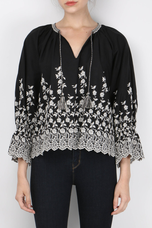 Ulla Johnson Sonya Blouse