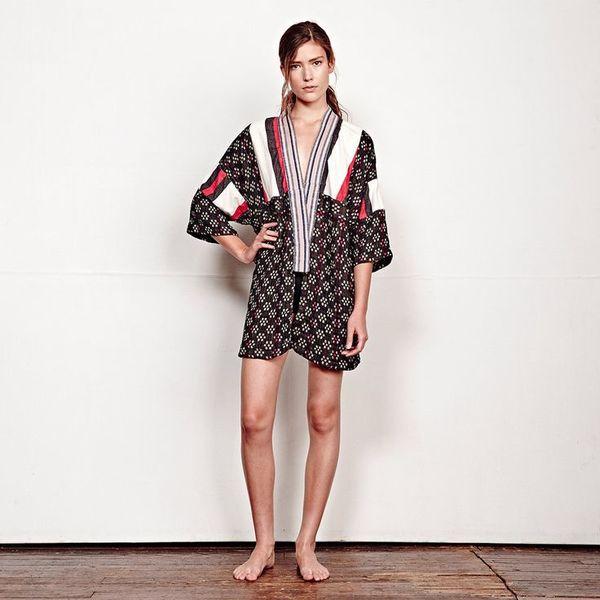 Ace & Jig Kimono - Kasuri