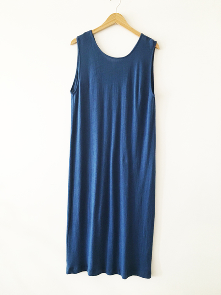 Ilana Kohn Jersey Tank Dress - Indigo
