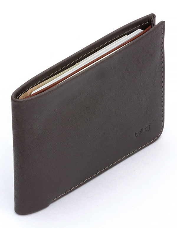 Men's Bellroy Low Down Wallet Charcoal
