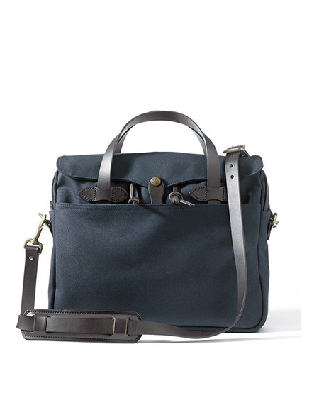 Filson Original Twill Briefcase Navy